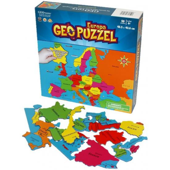 Image of Europa puzzel voor kinderen
