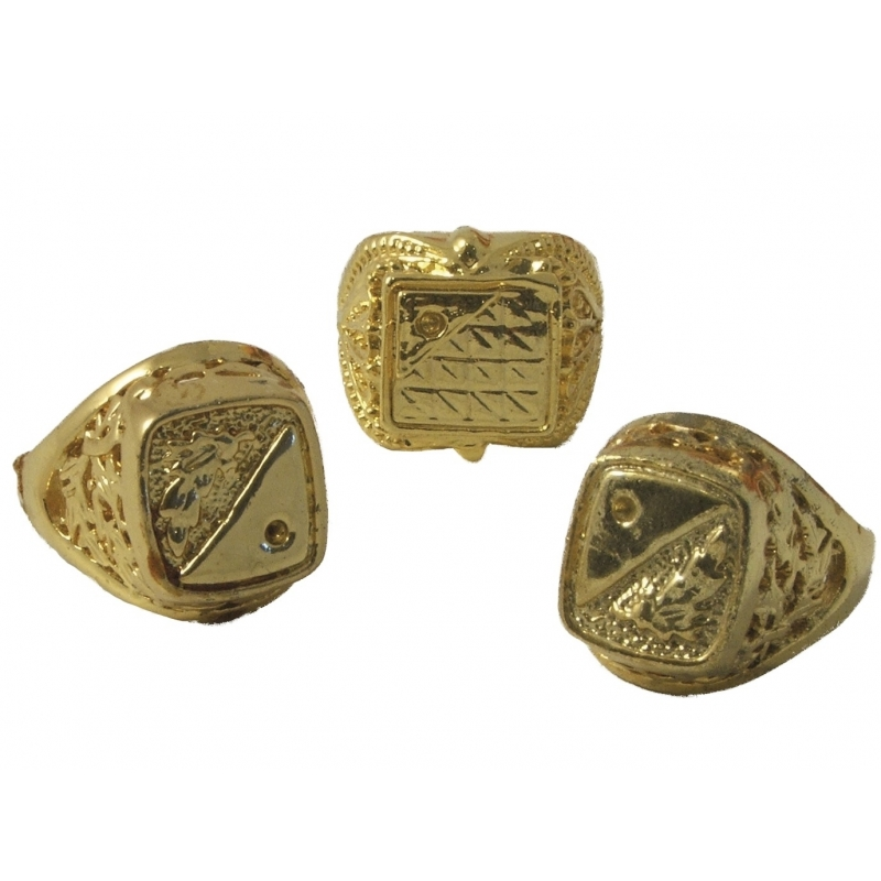 Image of Feest accessoire gouden ring