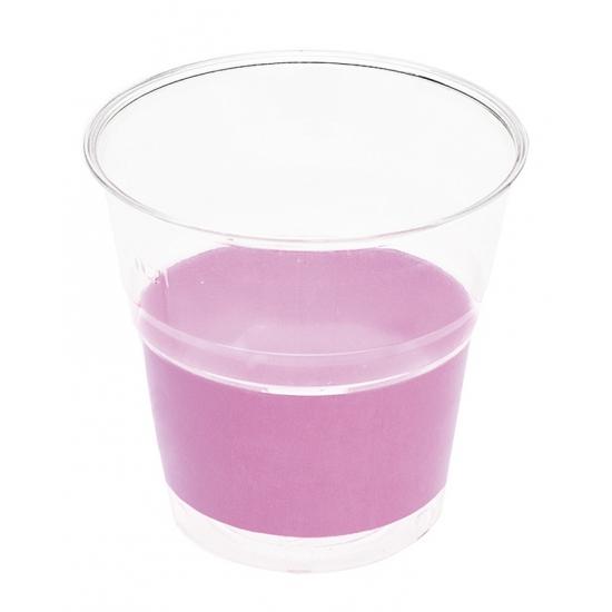 Image of Feest bekertjes lila paarse 10 stuks