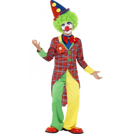 Image of Feest clowns outfit voor kids
