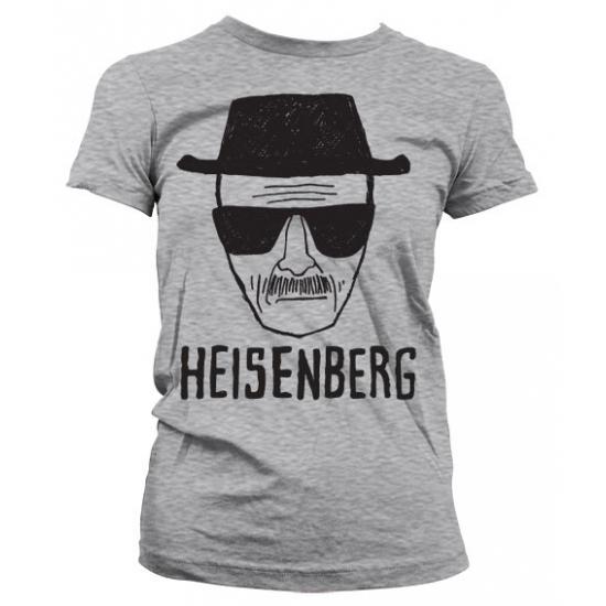 Image of Feest Heisenberg Sketch grijs shirt voor dames