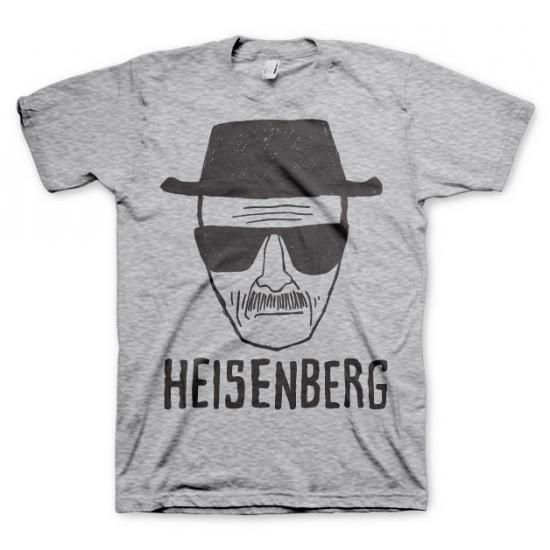 Image of Feest Heisenberg Sketch grijs shirt
