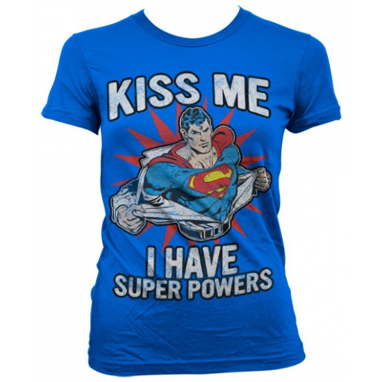 Image of Feest I have Super Powers dames shirt