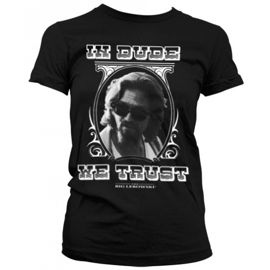 Image of Feest In Dude We Trust dames shirt