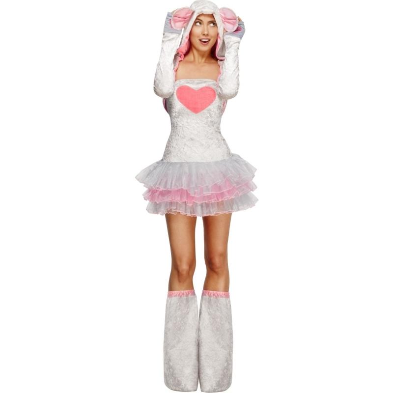 Feest knaagdier kostuum muis voor dames