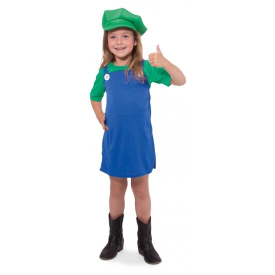 Image of Feest Luigi jurkje voor meisjes