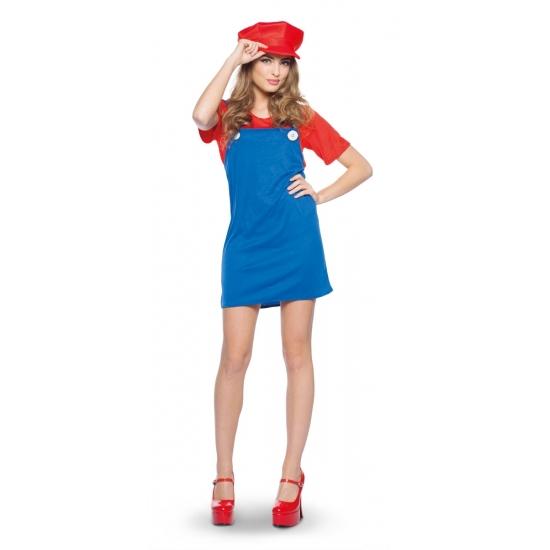 Image of Feest Mario jurkje voor dames