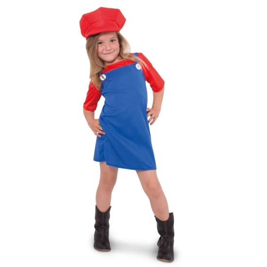 Image of Feest Mario jurkje voor meisjes