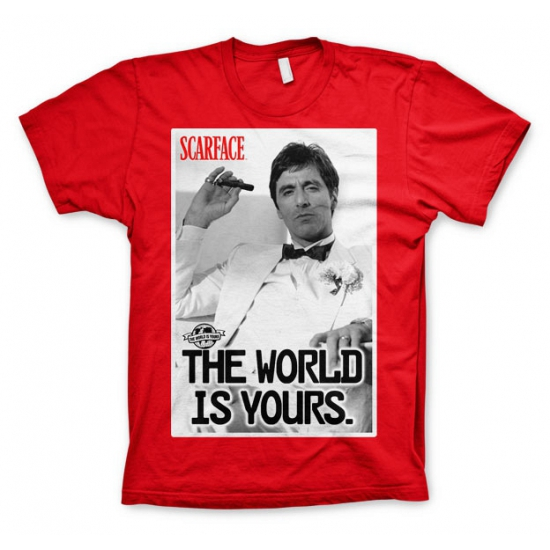 Image of Feest Scarface The world is Yours shirt