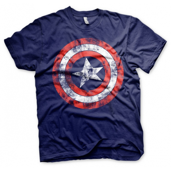 Image of Feest shirt Captain America schild