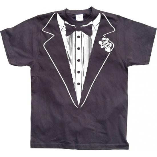 Image of Feest shirt nette smoking print