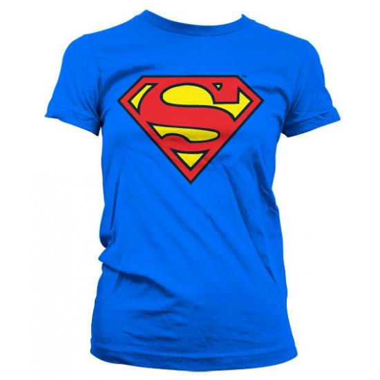 Image of Feest Superman logo dames shirt