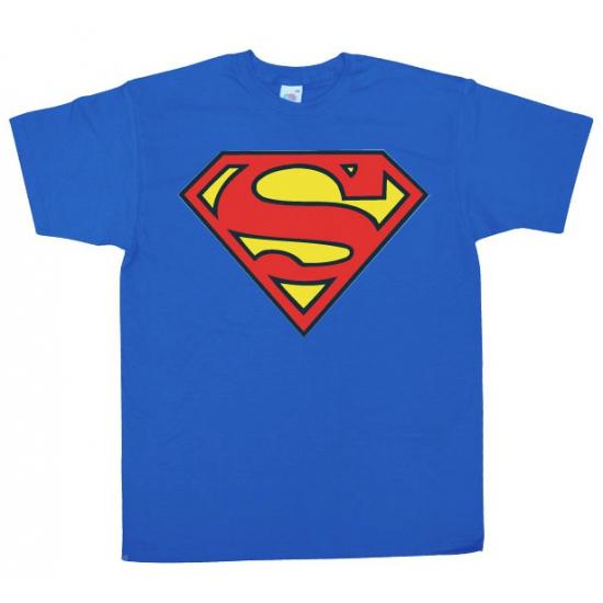 Image of Feest Superman logo heren shirt