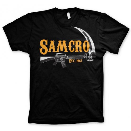 Image of Feest t-shirt SAMCRO voor heren