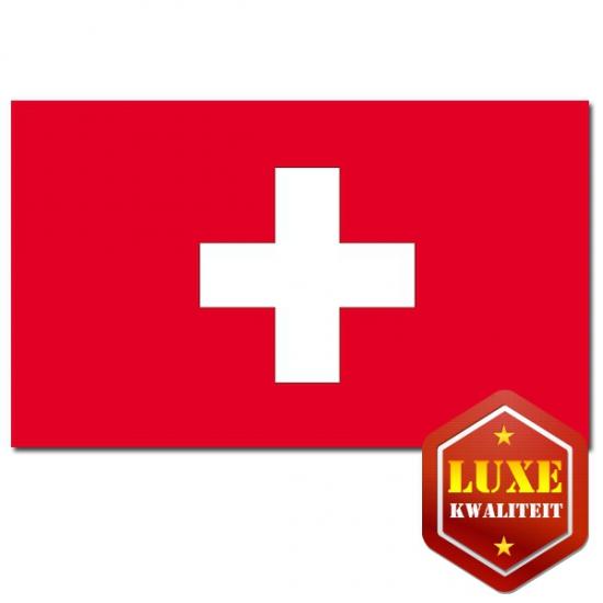 Feest versiering Zwitserland vlag