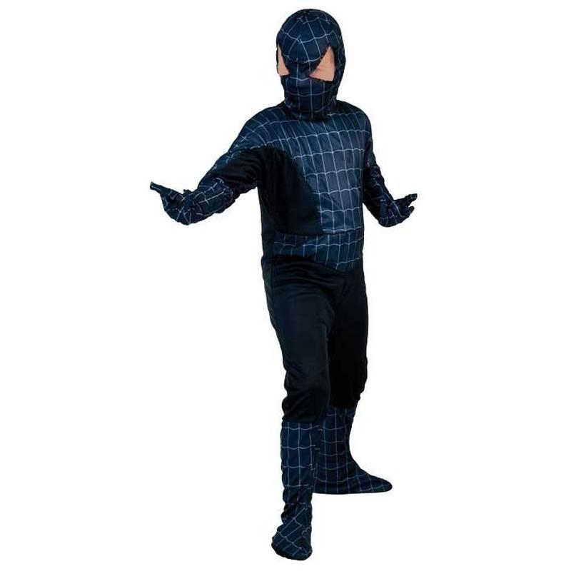 Image of Feest voordelig spinnenheld kostuum voor kinderen