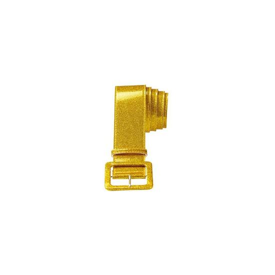 Image of Feestartikel glitter riem goud