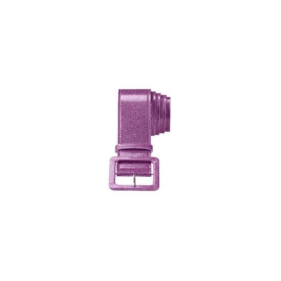 Image of Feestartikel glitter riem paars
