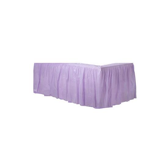 Image of Feestartikelen tafel rand lila paars
