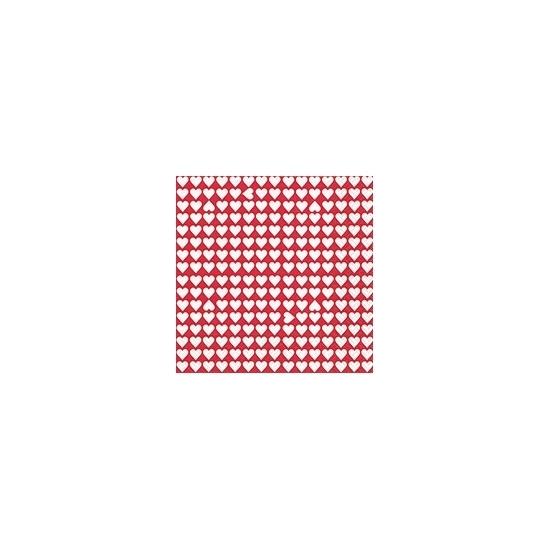 Image of Feestartikelen witte hartjes 20 stuks