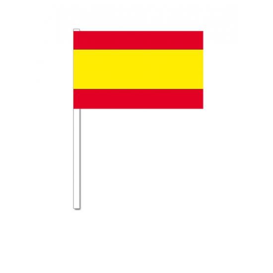 Image of Feestartikelen zwaaivlaggetjes Spanje 12 x 24 cm