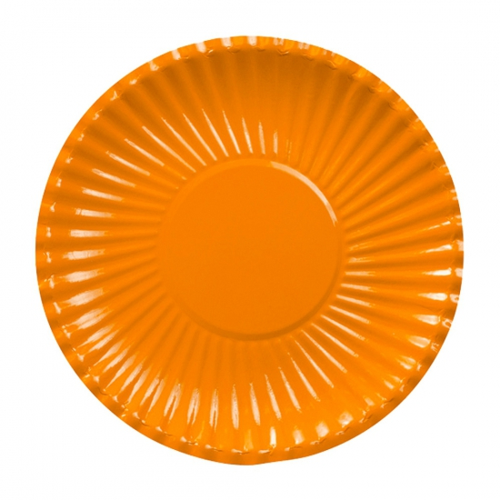 Image of Feestbordjes oranje 23 cm