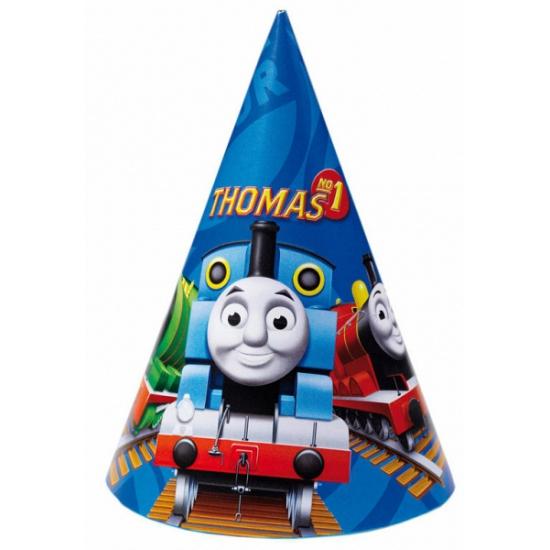 Image of Feesthoedjes Thomas de Trein 6 stuks
