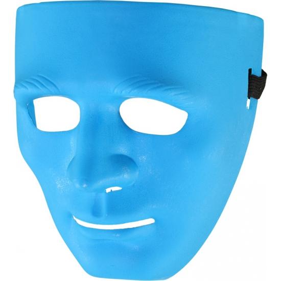 Image of Feestmasker blauw
