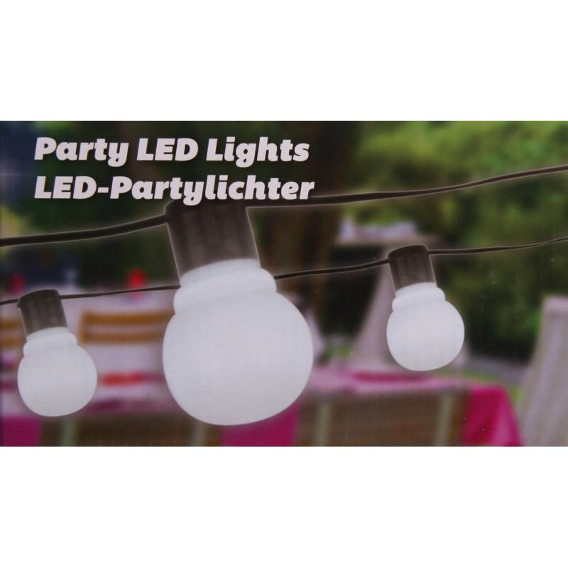 Image of Feestverlichting 20 lampen 11 meter