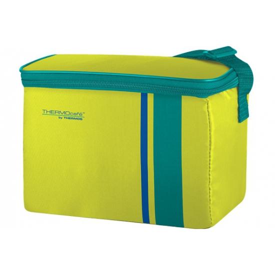 Image of Fel gele met groene koeltas 4 liter