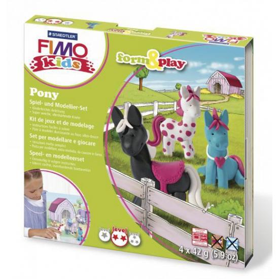 Image of Fimo kids klei hobby pakket pony