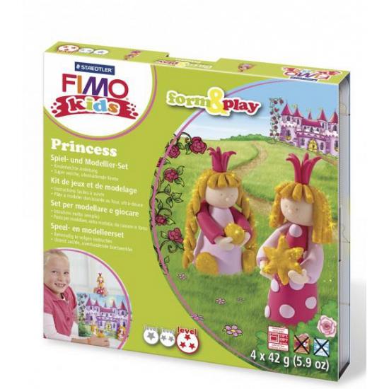 Image of Fimo kids klei hobby pakket prinsessen