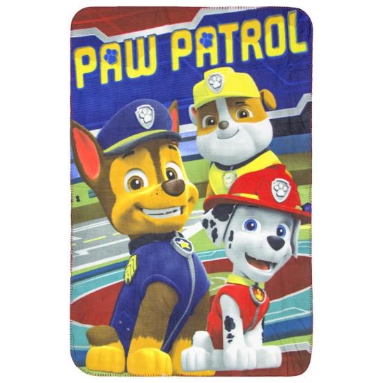 Image of Fleecedeken rood Paw Patrol