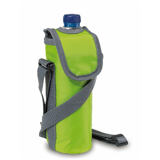 Image of Flessen koeltas lime groen 0.5 liter