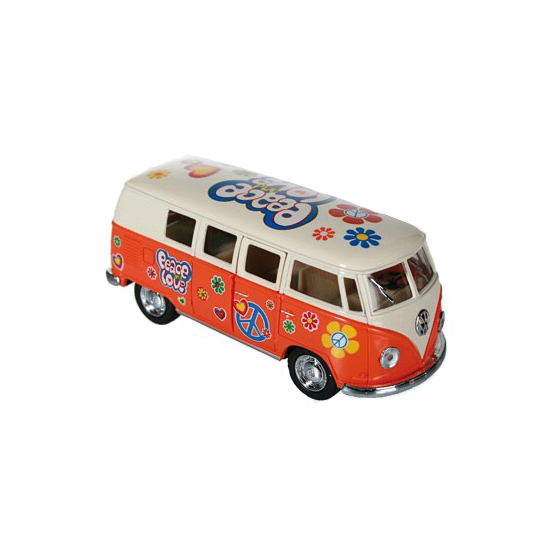 Image of Flower Power modelbusje oranje