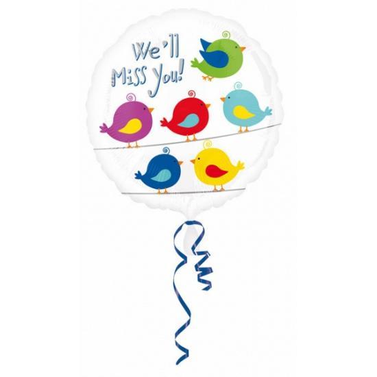 Image of Folie ballon afscheid 43 cm
