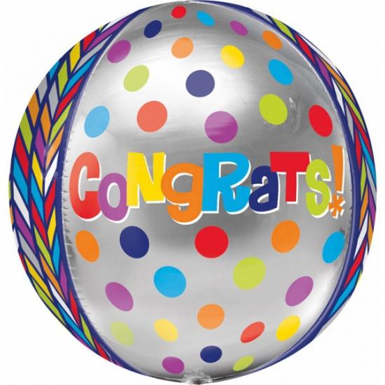 Image of Folie ballon gefeliciteerd 40 cm