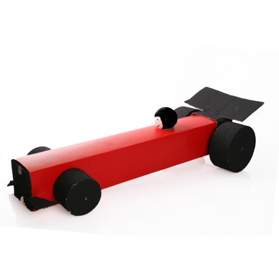 Image of Formule 1 auto knutselen startpakket