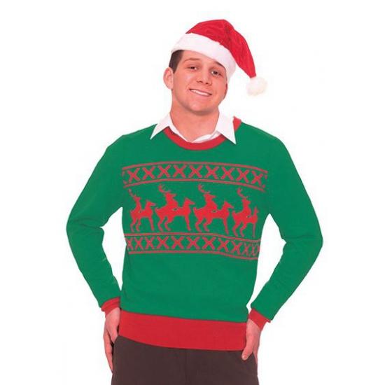 Image of Foute kersttrui rendier