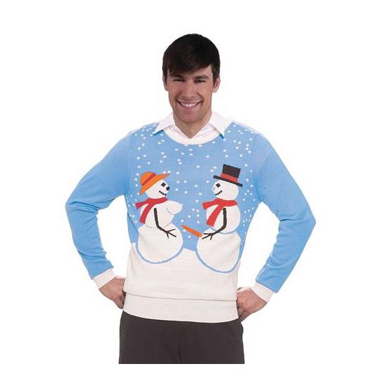 Image of Foute kersttrui sneeuwmannen