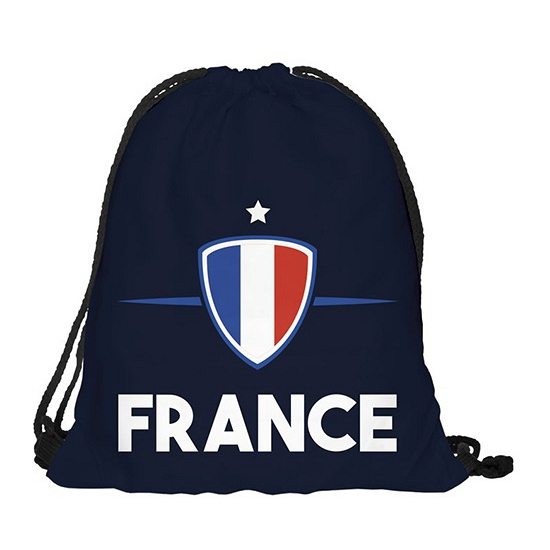 Image of Frankrijk rugtas met rijgkoord
