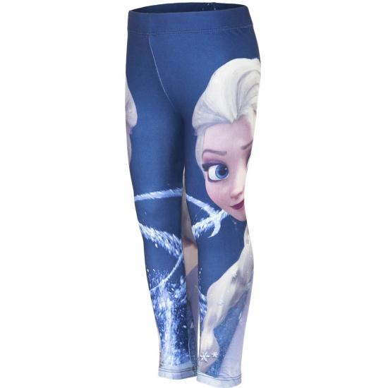 Image of Frozen legging blauw voor meisjes