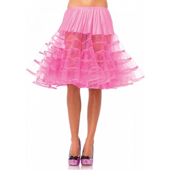 Image of Fuchsia jaren 50 petticoat voor dames