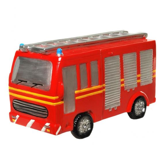 Gadget spaarpot rode brandweer auto