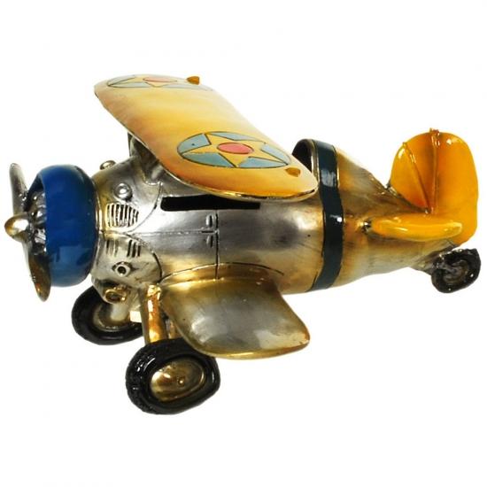 Gadget spaarpot vliegtuig