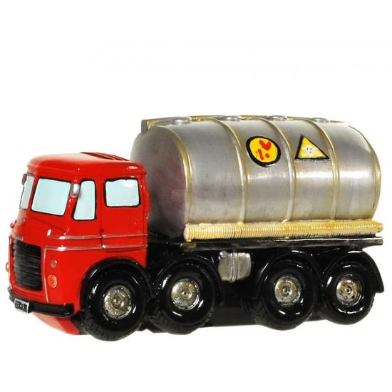 Image of Gadget spaarpot vrachtwagen olie
