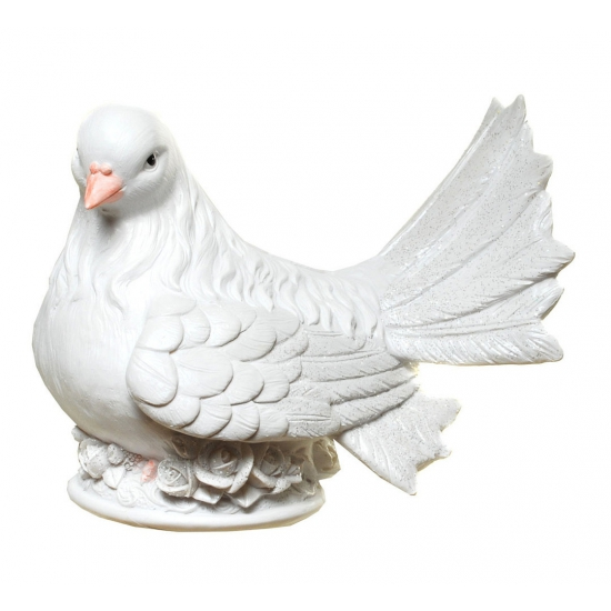 Image of Gadget spaarpot witte duif
