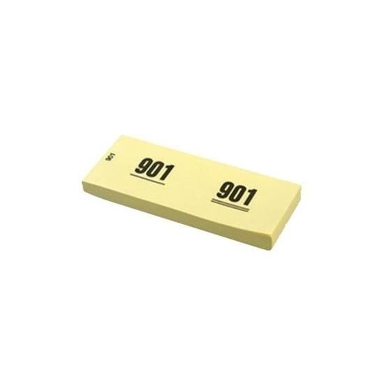 Image of Garderobenummers geel