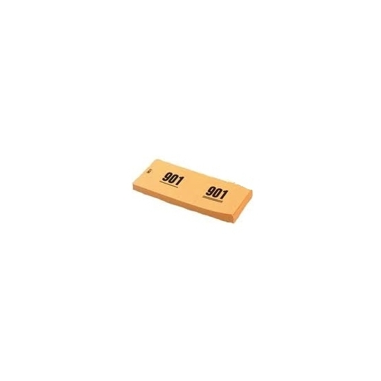 Image of Garderobenummers oranje