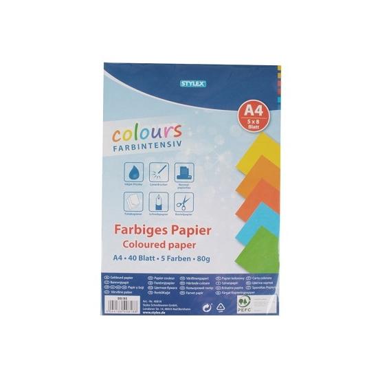 Image of Gekleurd A4 papier 80 gram